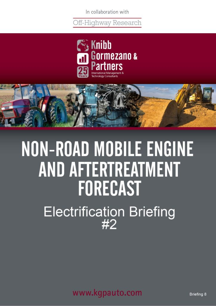 KGP's Briefing Series #8 – Non-Road Mobile Machinery NRMM Electrification Briefing Part 2
