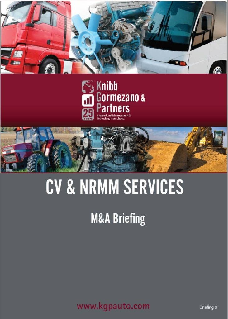 Strategic Positioning —M&A in Commercial Vehicle and Non-Road (NRMM) Sector