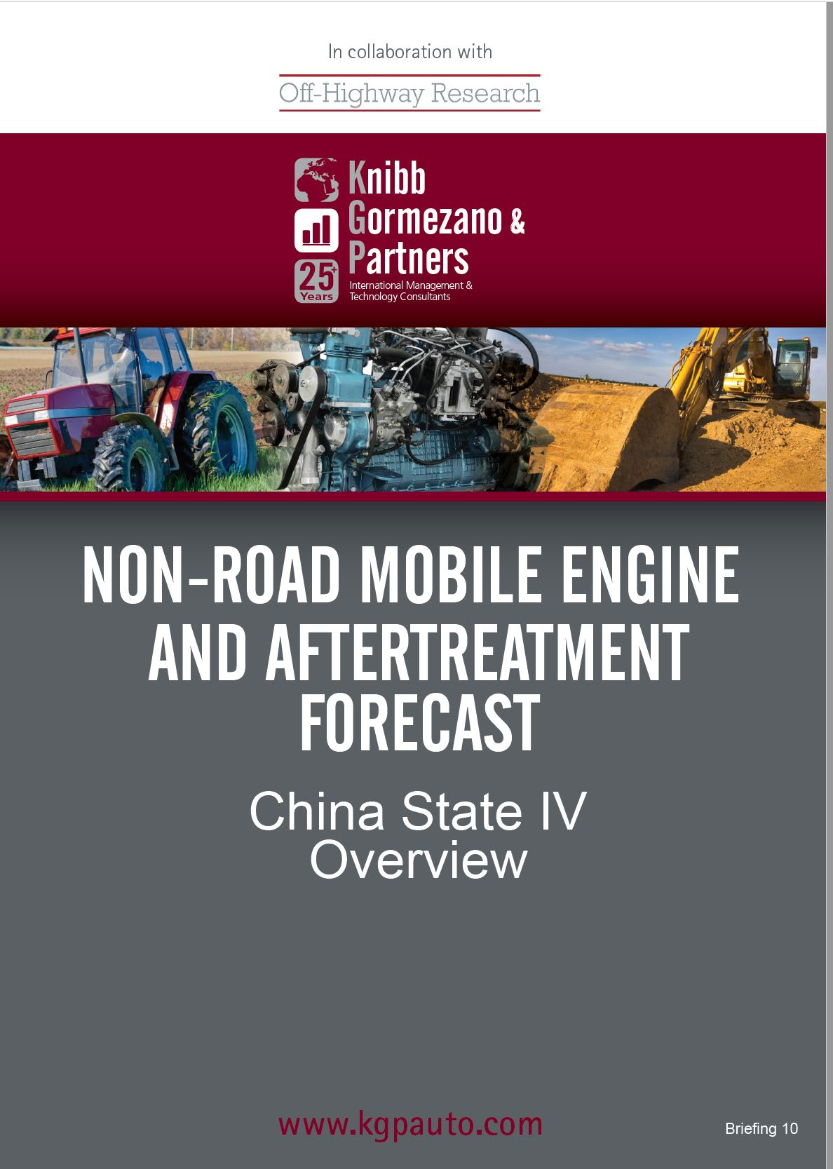 Briefing #10 - The Future of Diesel - Cleaning up China, the Global